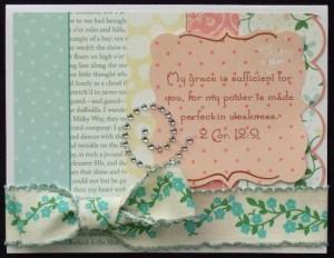 2 Cor 12v9 card
