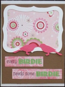 Every Birdie Needs Some Birdie