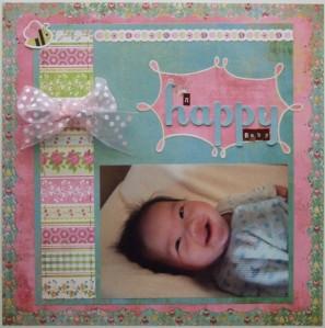 A Happy Baby (BG July 09 sketch)