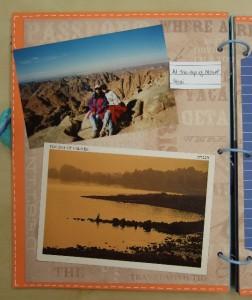 Travel Album page 1